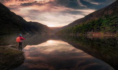 The Upper Lake Glendalough
