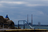 Seapoint view of The pigeon house Dublin