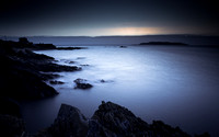 Early Morning Donabate Rocky Shoreline