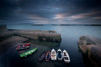 Colliemore Harbour Boats Dalkey