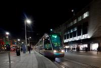 Luas on O'Connell Street