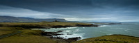 Panorama of Classiebawn castle Mullaghmore Sligo Ireland