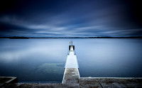 The Diving Board on Lough Owel