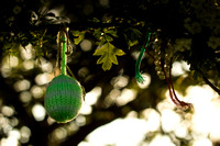 Raggedy Bush knitted bauble