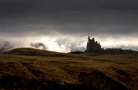 Castle in the west of Ireland Classiebawn Mullaghmore Sligo Ireland