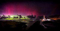 The Northern Lights at Fanad Lighthouse 8